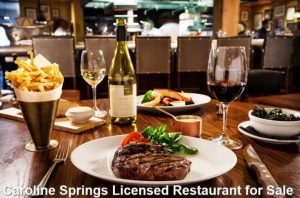 Caroline Springs Licensed Restaurant for Sale