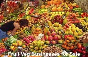 Fruit Veg Businesses for Sale