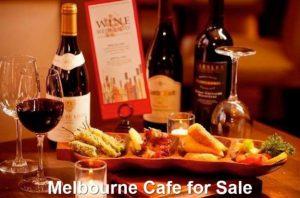 Melbourne Cafe for Sale