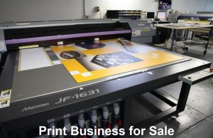 Print Business for Sale